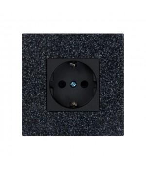 TIS-TER-AC-B (акустическая розетка черная)