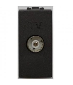 TERRE tv разъем (мама) черная 1