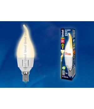 LED-CW37-6W/WW/E14/FR/DIM PLP01WH картон