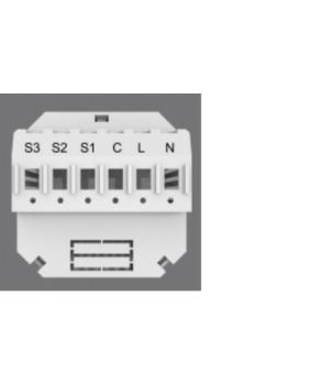 TIS-ADS-3R-3Z_AIR (3х канальный релейный модуль 8А на канал и 3 цифровых входа)