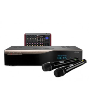 Комплект караоке для дома AST-50, радиосистема AST-922M и микшер AST-6FX