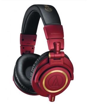 Мониторные наушники Audio-Technica ATH-M50x Red