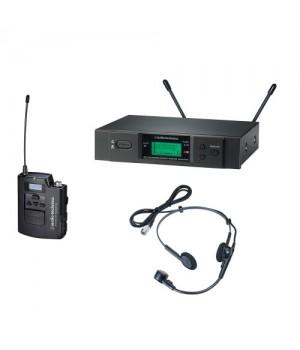Головная радиосистема Audio-Technica UHF ATW3110b/H с микрофоном PRO8HEcW