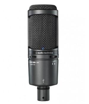 Студийный микрофон Audio-Technica AT2020USB+