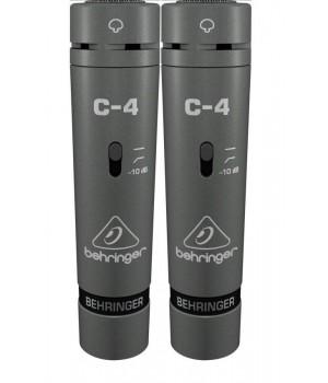 Пара конденсаторных микрофонов Behringer C-4