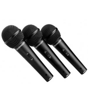 Комплект из 3-хмикрофонов Behringer XM1800S