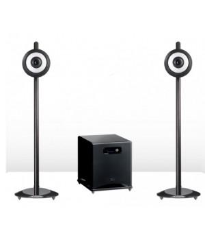 Акустическая система Cabasse BALTIC 4 ON STAND WENGE/ BLACK PEARL