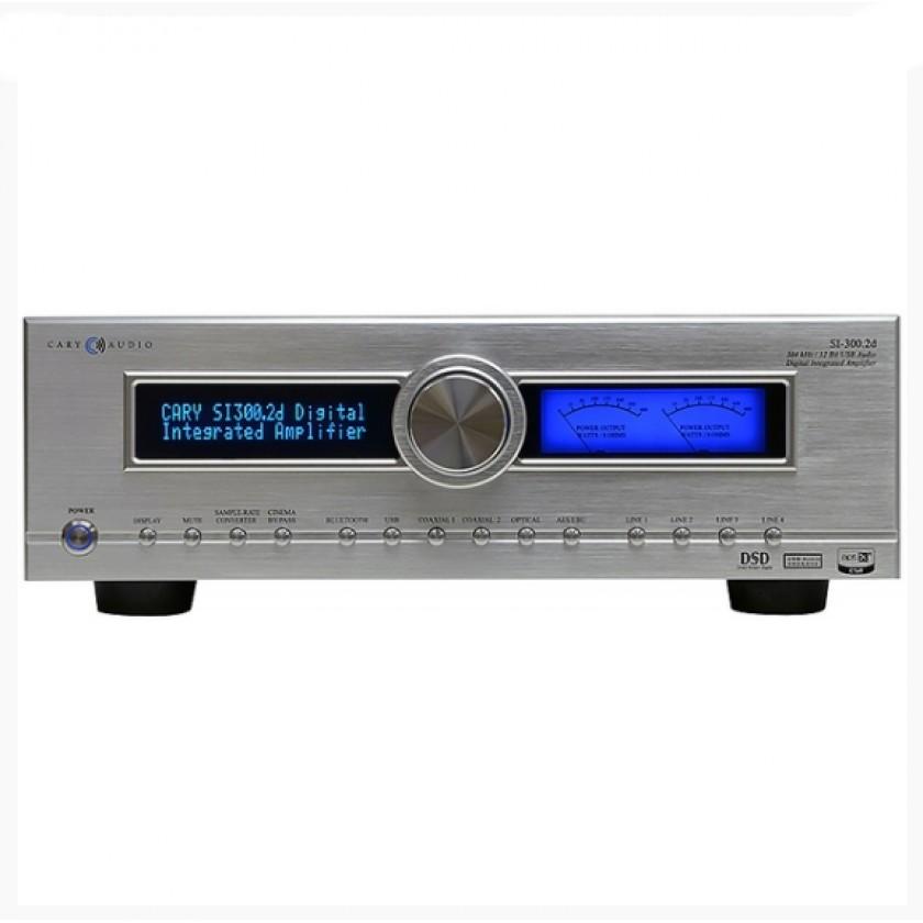 Интегральный усилитель Cary Audio SI-300.2D Silver