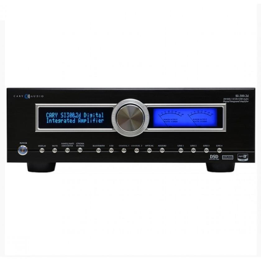 Интегральный усилитель Cary Audio SI-300.2D Black