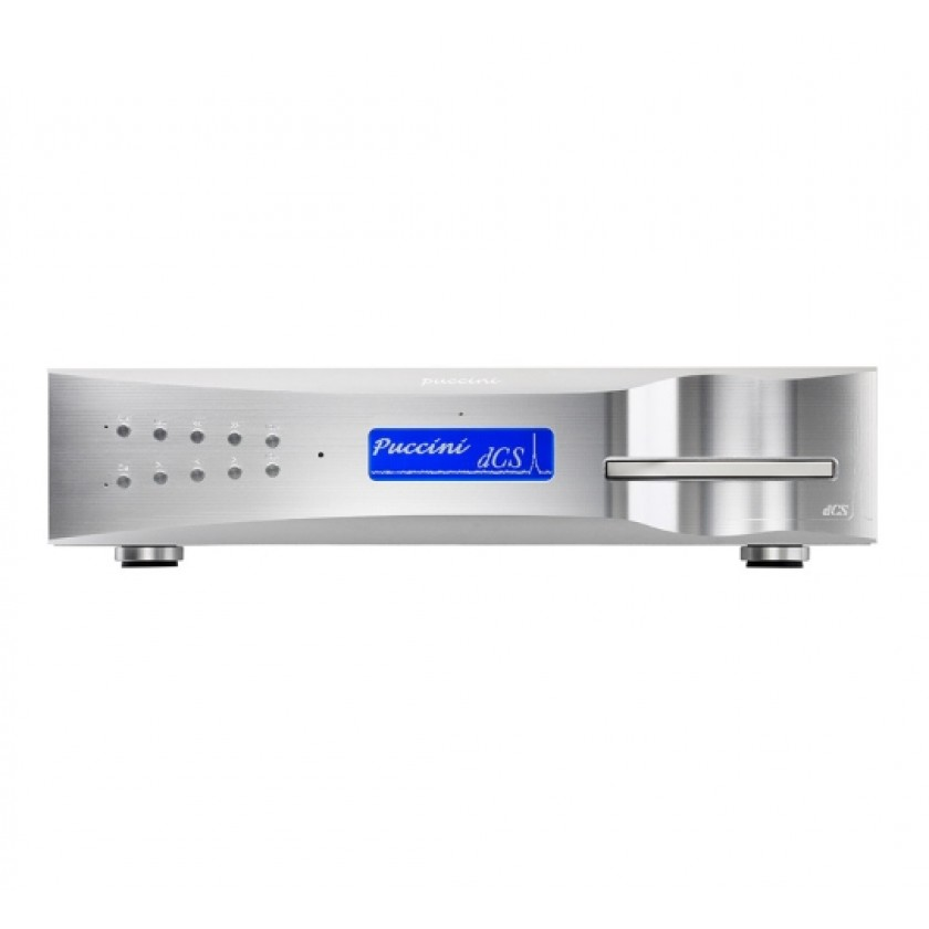 CD проигрыватель DCS Puccini CD/SACD Player Silver