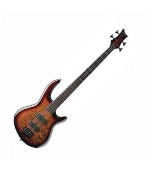 Бас гитара 4 струнная Edge Q4 Bartolini Active DEAN EQ4BAR TGE