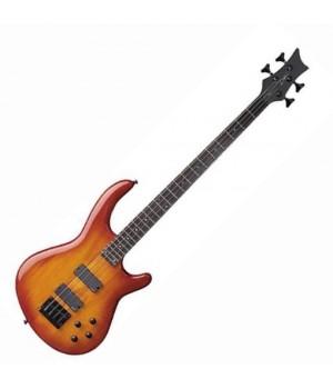 Бас гитара 4 струнная DEAN EQ4 TAB/Edge Q 4-String Trans Amber