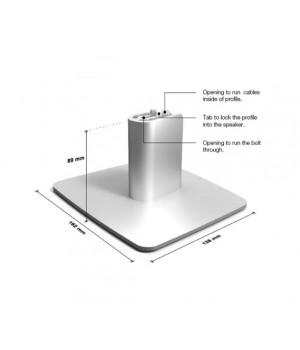 Настольная подставка Dynaudio DESK STAND XEO2 silver