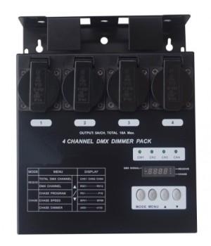 Компактный диммерный блок EURO DJ Dimmer Pack 4