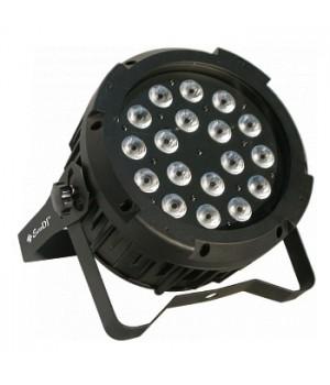 Светодиодный прожектор EURO DJ LED PAR 1812 RGBAW/UV