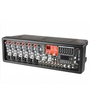 Микшерный пульт с усилением Eurosound Force-600UFX