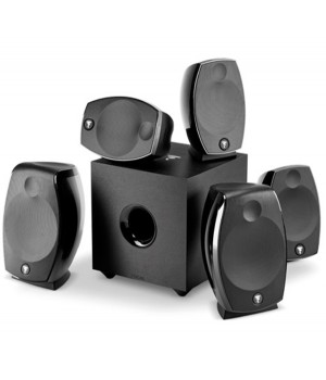 Комплект акустики Focal MULTIMEDIA SIB EVO Dolby Atmos 5.1.2 Black