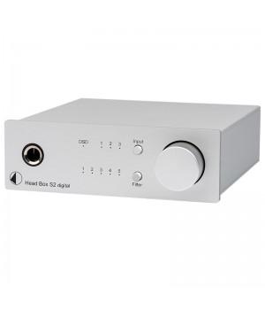 Усилитель для наушников/ЦАП Pro-Ject HEAD BOX S2 Digital Silver