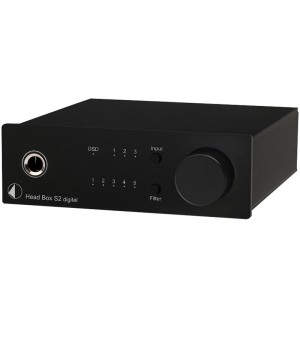 Усилитель для наушников/ЦАП Pro-Ject HEAD BOX S2 Digital Black