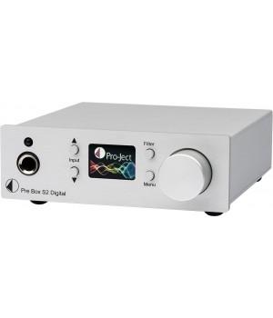 Предусилитель Pro-Ject PRE BOX S2 Digitall Silver