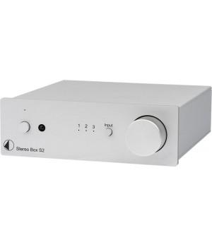 Интегральный усилитель Pro-Ject STEREO BOX S2 Silver