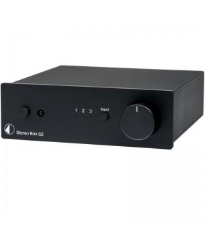Интегральный усилитель Pro-Ject STEREO BOX S2 Black