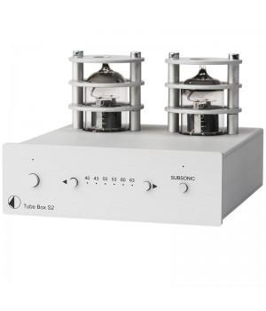 Фонокорректор Pro-Ject TUBE BOX S2 Silver