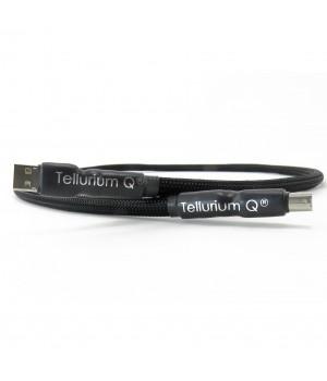 USB кабель Tellurium Q Black USB (A to B) 0.5 м