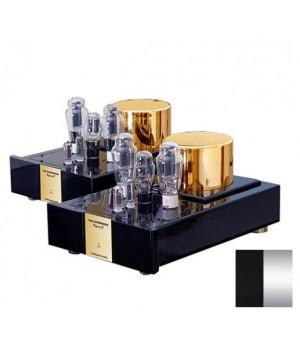 Усилитель мощности Trafomatic Audio Reference 300B monoblocks black/silver plates