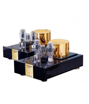Усилитель мощности Trafomatic Audio Reference 300B monoblocks black/gold finish