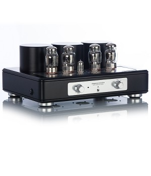 Интегральный усилитель Trafomatic Audio Evolution Elegance black/silver plates