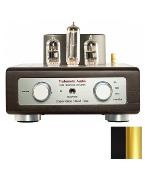 Усилитель для наушников Trafomatic Audio Experience Head One black/gold finish