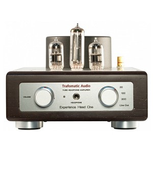 Усилитель для наушников Trafomatic Audio Experience Head One black/silver plates