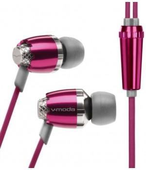 Вставные наушники V-MODA Remix Audio розовый