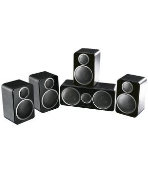 Комплект акустики Wharfedale 5.0, DX-2 HCP System Black Leather