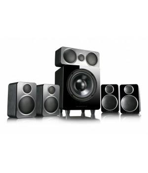 Комплект акустики Wharfedale 5.1, DX-2 HCP Black Leather