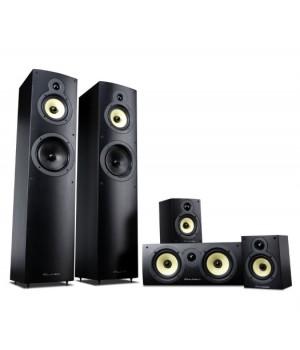 Комплект акустики Wharfedale Crystal 4. Black Wood