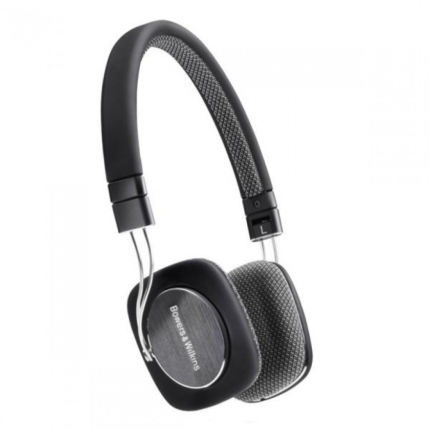 Bowers & Wilkins Headphones Mobile P3 Black New Media