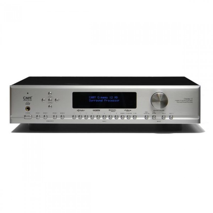 AV процессор Cary Audio Cinema 12 Silver