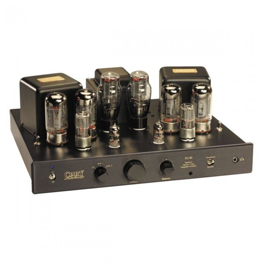 Интегральный усилитель Cary Audio SLI 80 Black