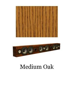 "Legacy Audio SoundBar 3"" Medium Oak"