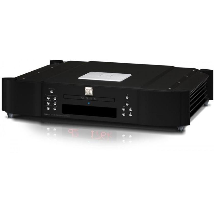 CD проигрыватель Simaudio MOON 650D Black\Blue Display