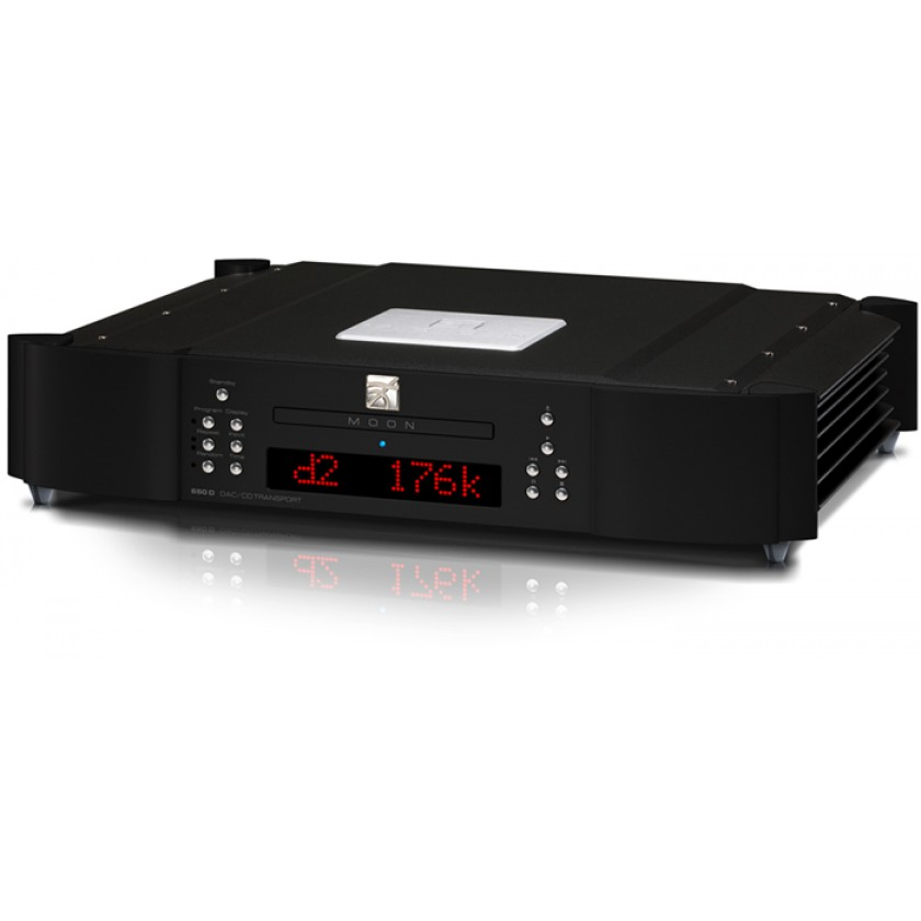 CD проигрыватель Simaudio MOON 650D Black\Red Display