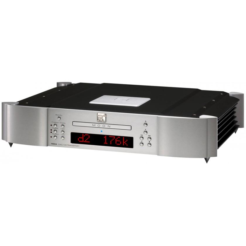 CD проигрыватель Simaudio MOON 750D Silver\Blue Display