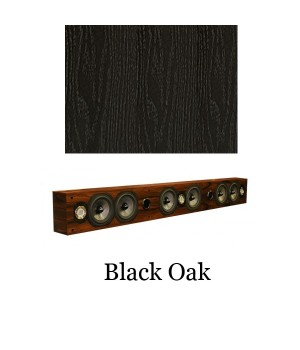 "Legacy Audio SoundBar 7"" Black Oak"