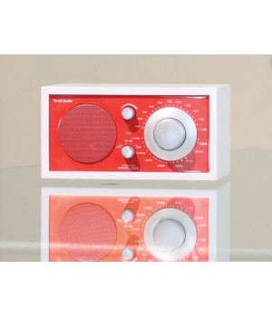 Tivoli Audio Model One Frost White/Ember Red