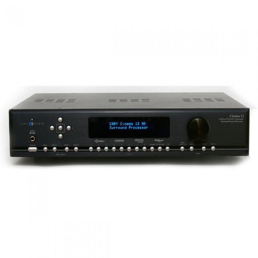AV процессор Cary Audio Cinema 12 Black